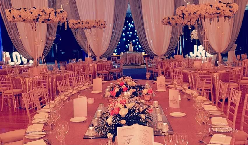 Table Centerpieces Hire